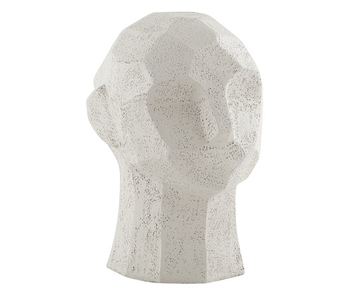 Escultura Face Cabeca, Off White   WestwingNow