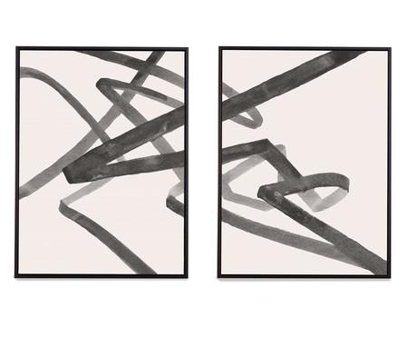 Jogo de Quadros em Canvas Osíris   WestwingNow