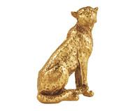 Escultura Leopardo - Dourado | WestwingNow