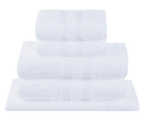 Jogo de Toalhas Egípcio Branco - 550 G/M², Branco | WestwingNow