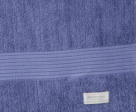 Jogo de Toalhas Canelado Gigante - Azul | WestwingNow