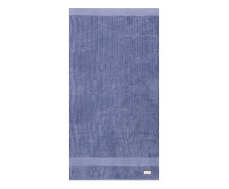 Jogo de Toalhas Canelado - Azul | WestwingNow