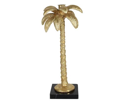 Adorno Green de Palmeira em Resina - Dourado, Dourado | WestwingNow