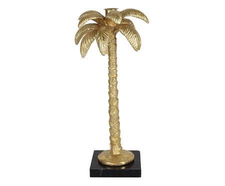 Adorno Green de Palmeira em Resina - Dourado | WestwingNow