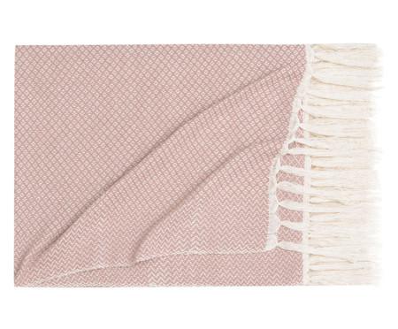 Manta Losango Compostos - Rosa Seco | WestwingNow