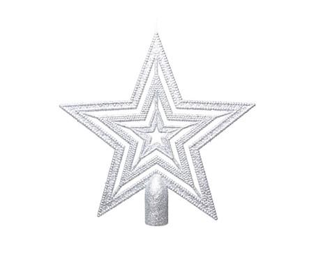 Ponteira para Árvore de Natal Estrela Eyvind -  20X20cm   WestwingNow
