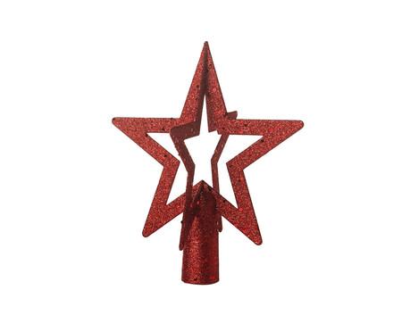 Ponteira para Árvore de Natal Estrela Arkady -  20X20cm   WestwingNow