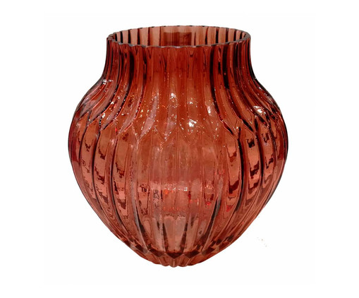 Vaso Terracota Arinhã - Marrom, Marrom | WestwingNow