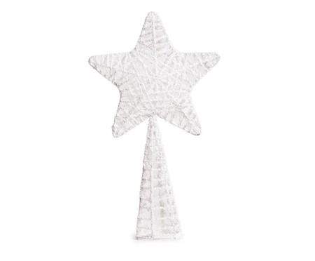 Ponteira para Árvore de Natal Estrela Morris -  14X25X5cm   WestwingNow