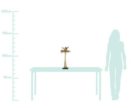 Adorno Scott de Palmeira em Resina - Dourado | WestwingNow