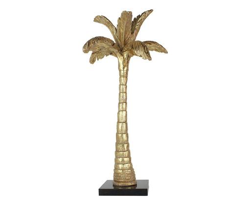 Adorno Scott de Palmeira em Resina - Dourado, Dourado | WestwingNow