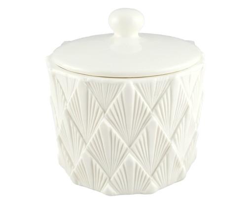 Pote Decorativo Dinah - Branco, Branco | WestwingNow