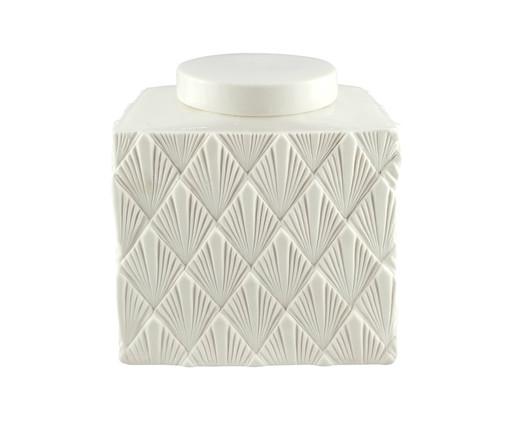 Vaso de Cerâmica Cayres - Branco, Branco | WestwingNow