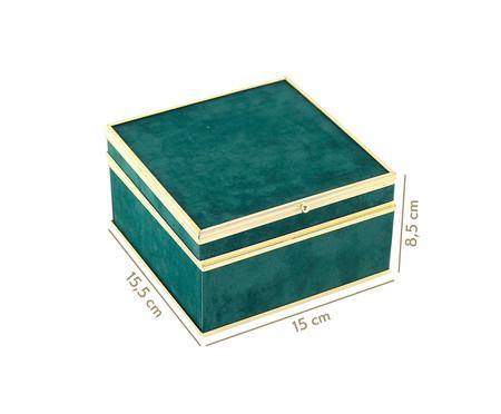 Caixa Decorativa Heloise - Verde | WestwingNow