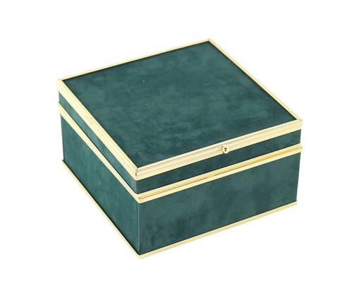 Caixa Decorativa Heloise - Verde, Verde | WestwingNow