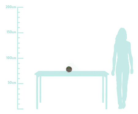 Enfeite Bola em Led Aija -  20X20cm   WestwingNow
