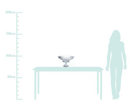 Fruteira de Vidro Ian - Transparente | WestwingNow