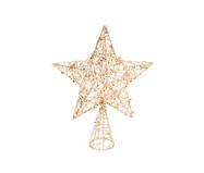 Ponteira para Árvore de Natal Estrela Ursa | WestwingNow