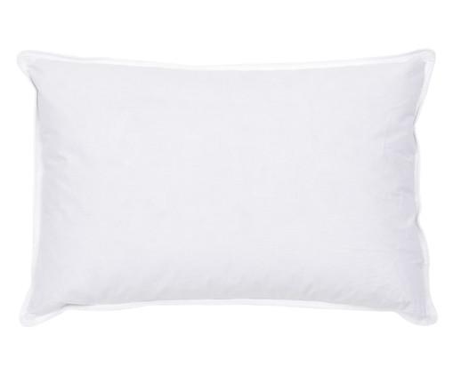 Travesseiro 100% Pluma de Ganso Baby Dina - Branco, Branco, Colorido | WestwingNow