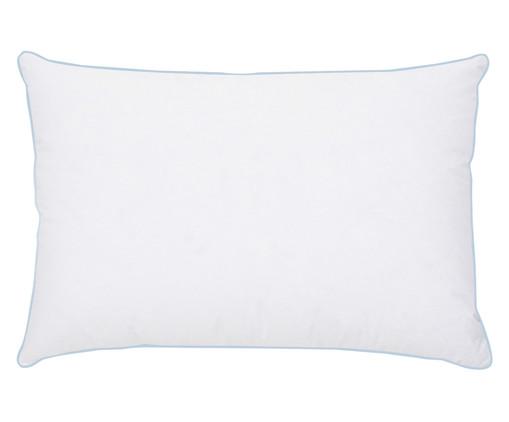 Travesseiro Marie 100% Plumas de Ganso - Branco, Branco, Colorido | WestwingNow
