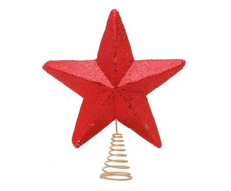 Ponteira para Árvore de Natal Estrela Vittorio -  28X33X6cm   WestwingNow