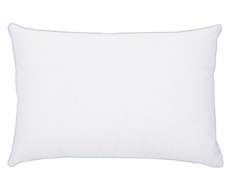 Travesseiro 50% Plumas e 50% Penas de Ganso Vicky - Branco | WestwingNow