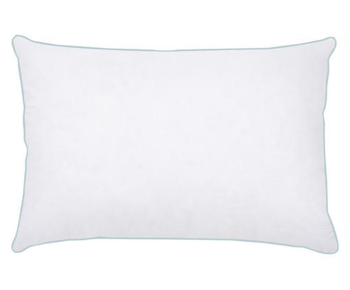 Travesseiro Lina - 85% Penas e 15% Plumas de Ganso, Branco, Colorido | WestwingNow