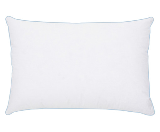 Travesseiro Gayle 95% Penas e 5% Plumas de Ganso - Branco, Branco, Colorido | WestwingNow