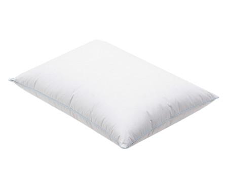 Travesseiro 100% Penas de Ganso Eva - Branco | WestwingNow