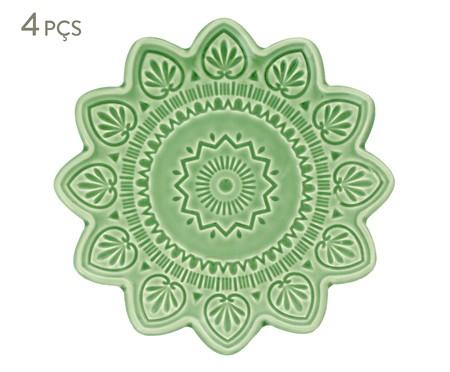 Jogo de Jantar Mandala Turca - Verde | WestwingNow