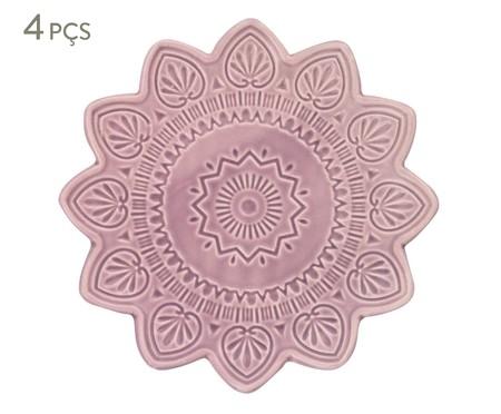 Jogo de Jantar Mandala Turca - Rosa | WestwingNow