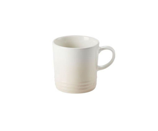 Caneca Cappuccino em Cerâmica - Meringue, Branco | WestwingNow