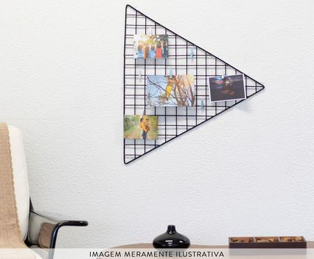 Mural Decorativo Triangle - Preto | WestwingNow
