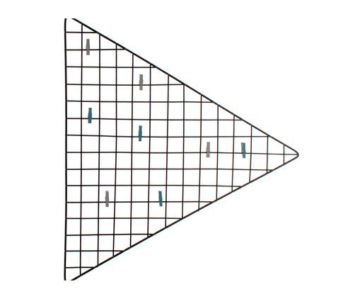 Mural Decorativo Triangle - Preto, Preto | WestwingNow
