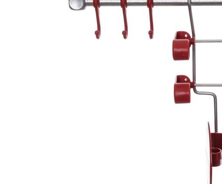 Jogo de Organizadores de Cozinha Requinte  - Vermelho | WestwingNow