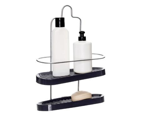Porta Shampoo Wave Duo Trim  - Cinza | WestwingNow
