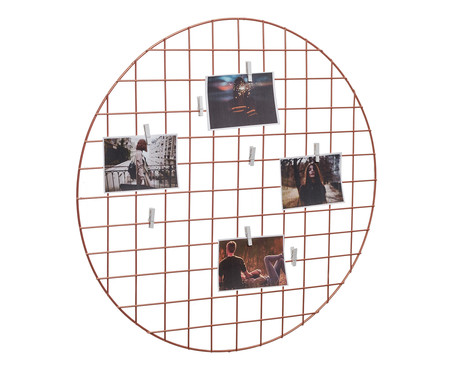 Mural Decorativo Circle - Acobreado | WestwingNow