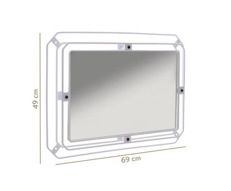 Espelho de Parede Jami - Branca | WestwingNow