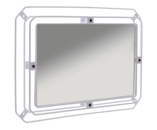 Espelho Jami - Branca, Branco | WestwingNow