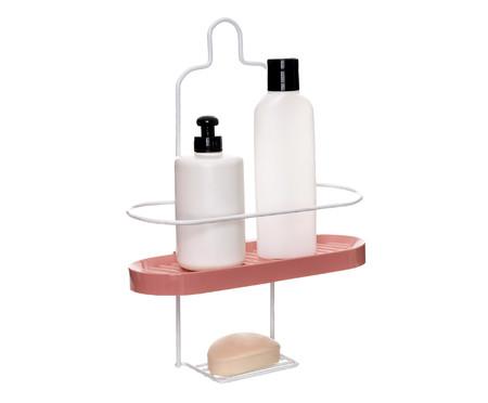 Porta Shampoo Wave Une Tate - Rosa e Branco | WestwingNow