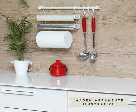 Jogo de Organizadores de Cozinha Requinte  - Branco | WestwingNow