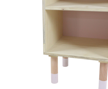 Mesa de Cabeceira Maj - Rosa Queimado | WestwingNow