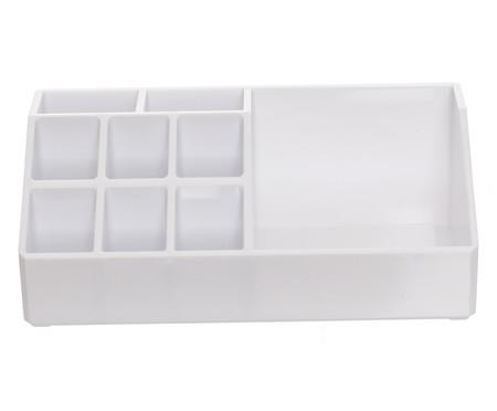 Organizador de Maquiagem Box Branco - 17,5x6,5cm | WestwingNow
