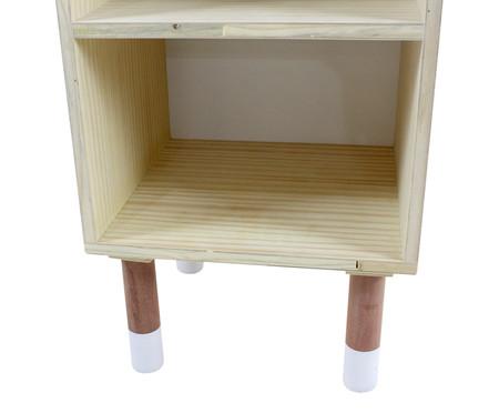 Mesa de Cabeceira Maj - Branco | WestwingNow