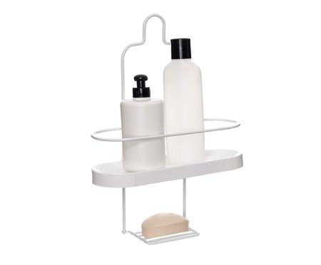 Porta-Shampoo Wave Une Tate - Branco | WestwingNow