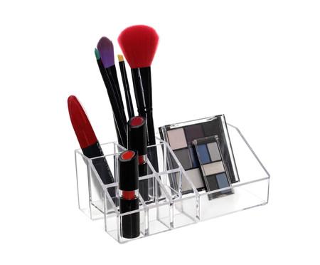 Organizador de Maquiagem Box Transparente - 17,5x6,5 cm | WestwingNow