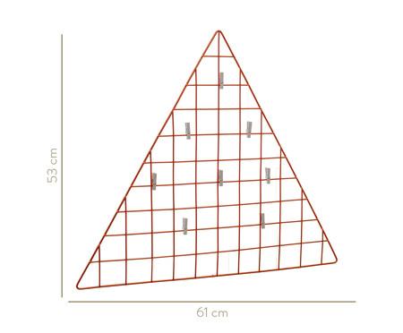 Mural Decorativo Triangle - Acobreado | WestwingNow