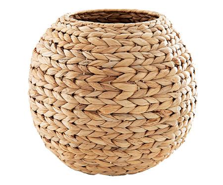 Cachepot em Fibra Natural Joyce - Bege | WestwingNow