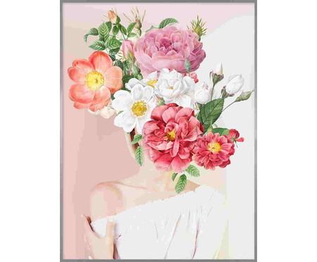 Woman In Flower l 101x76 -  Alexandre Venâncio   WestwingNow