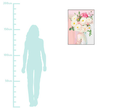 Woman In Flower  ll 101x76 -  Alexandre Venâncio   WestwingNow